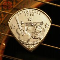 State Coin Guitar Pick + Gibson Les Paul Guitar SG Standard Custom Studio ART