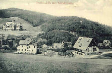 AK Schlesien Ulbrichshöh Sanatorium Szczytów Polen OS