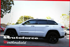 PREMIUM JEEP GRAND CHEROKEE WK2 11-19 WEATHER SHIELD DOOR WINDOW VISOR