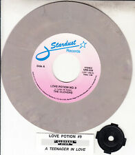 """CLOVERS  Love Potion No. 9 & DION A Teenager In Love 7"""" 45 rpm record BRAND NEW"""