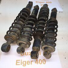 2004 Suzuki Eiger 400 shock front rear matched set of 4 LTA LTF 02-07 Video #102
