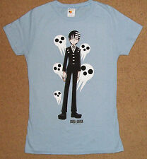Soul Eater Death The Kid Ghosts Juniors Shirt Large Licensed