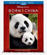 Disney Nature Born in China Blu-ray DVD Digital Panda Snow Leopard Documentary