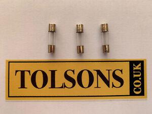 Potterton Performa Promax & Titanium Boiler PCB Glass Fuse 248089 2AMP Pack Of 3