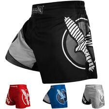 Hayabusa Ultra Ligero Medio Muslo Kickboxing Pantalones Cortos