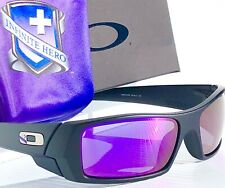 NEW* Oakley GASCAN Infinite Hero Black POLARIZED Galaxy Violet Sunglass 9014