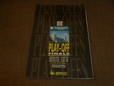 1990 DIVISION 2,3 AND 4 PLAY OFF FINALS. OFFICIAL PROGRAMME.