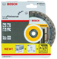 Bosch 2608603630 Lama diamantata 125 mm 125mm Dia-ts migliori per Universale