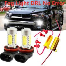 2 H11 HID LED Projector Fog Light DRL No Error For Mercedes W211 W212 W164 W221