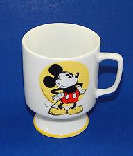 Walt Disney Productions Classic Mickey Mouse Pedestal Coffee Mug Japan Vintage