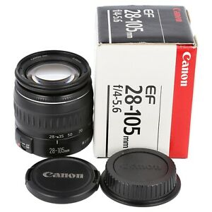 Canon EF 28-105mm for EOS 3 650D 60D 550D 70D 6D 5D II III 7D 760D 1200D 1300D