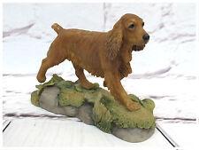 More details for teviotdale cocker spaniel (tan) figurine. tv0426. made in scotland