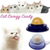 Healthy Cat Solid Nutrition Snack Catnip Sugar Candy Licking Pet Toy Energy Ball