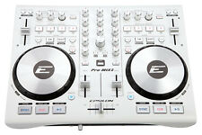 EPSILON PRO-MIX2 MIDI USB DJ Controller+Virtual DJ Software w/Soundcard - White