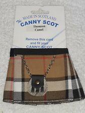 Canny Scot Thomson Camel Kilt Koozie New