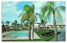 1960s Tower View Motel, Lake Wales, FL Postcard *223