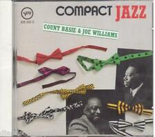 Count Basie & Joe Williams: Compact Jazz - CD Verve