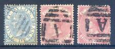 Ceylon 1866-8 Queen Victoria Crown CC perf 14 good used (2017/11/04#07)