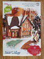Dept 56 Snow Village *Winter Retreat #4023611 Retired LTD Edition New Retired