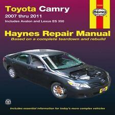 Haynes Toyota Camry and Lexus ES 350 Automotive Repair Manual : Models Covere