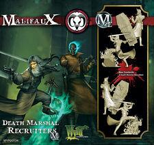 Malifaux The Guild Death Marshal Recruiters WYR20134 NIB