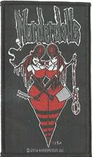 MURDERDOLLS twins 2004 WOVEN SEW ON PATCH official - no longer made WEDNESDAY 13