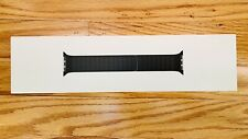 Apple Leather Link Band for Watch Series 6 and SE - Black, S/M (44mm)