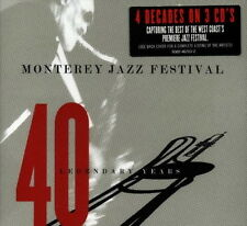 Monterey Jazz Festival (4 Decades On 3 CD`s) 40 Legendary Years Malpaso Records