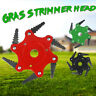 6 Steel Blades Razors Lawn Mower Grass Eater-Trimmers Head Brush Cutter Tool