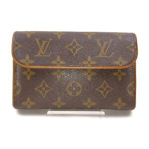 Louis Vuitton LV Cosmetic Pouch Bag Pochette Florentine M51855 No strap 1519969