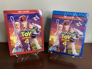 Toy Story 4  (3D + 2D Blu-ray + Slipcover, 3-Disc Set,  Disney) Factory Sealed