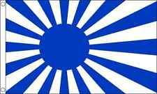 Giappone Sole Nascente (Blu) 1.5m x3ft (150cm x 90cm) 100% Poliestere Bandiera