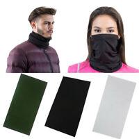 2Pcs Lightweight Neck Gaiter Neck Warmer Face Wrap Windproof Anti-UV Protection