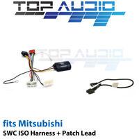 Aerpro CHMB5C for Mitsubishi Steering wheel control harness adaptor patch lead