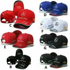 New Mercedes-Benz² Logo Car Cap Sport Baseball Hat outdoor Adjustab