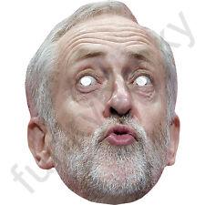 Jeremy Corbyn version 2 Labour politicien Carte Masque-toutes nos masques sont Pré-Coupé!