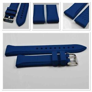 "Uhrenarmband  ""Silicona Azul"" 20 mm  von Piero Magli 13000002 - 20"