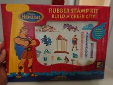 Hercules Rubber Stamp Kit Build A Greek City