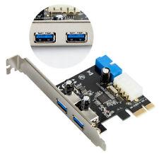 Tarjeta de expansión USB 3.0 PCI-E de 2 puertos 19 pines Header IDP de 4 pines_k