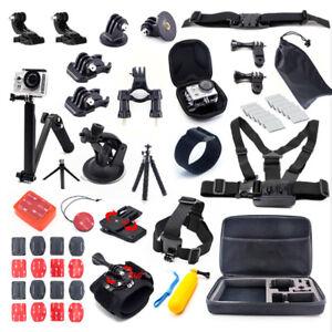 Case Tripod Mount Stick Adapter Camera Kit for Gopro 7 SJCAM Xiaomi yi Eken Sony