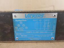 Vickers DGMPC-5-BAK-30 System Stak Pilot Op. Check Valve
