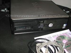 Dell Optiplex 745 SFF Computer; Intel Core 2 CPU 6400, 4GB;160GB HDD,Linux +ext.
