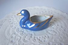 Vintage Decorative Small Limoges Blue Duck