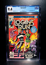 COMICS: Marvel: Logan's Run #6 (1977), 1st Thanos solo story - CGC 9.4