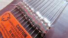 1N34A ITT Vintage Germanium Color Coded Glass Diode (12/Pkg) NOS SHIPS NOW >>USA