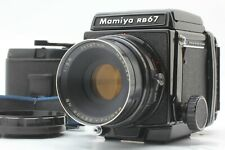 【Exc++++】 Mamiya RB67 Pro w/ Sekor 127mm F3.8 NB Lens 120 Film Back From JAPAN