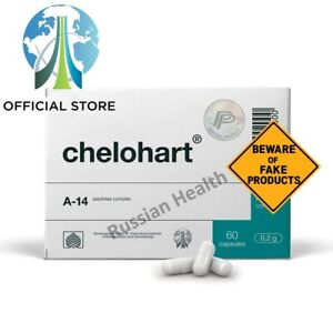 Chelohart Peptide bioregulators bioregulator Havinson 60 heart muscle peptides