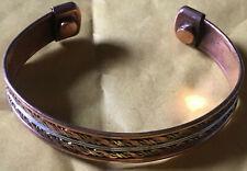 Unisex Magnetic Cooper Bracelets/Bangle (No 8)