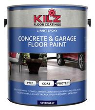 KILZ 1-Part Epoxy Acrylic Interior/Exterior Concrete & Garage Floor Paint, Satin