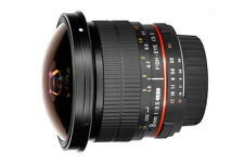 Samyang 8mm f/3.5 UMC Fish-eye CS II (Canon Mount)